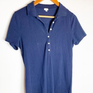 J. Crew navy polo shirt